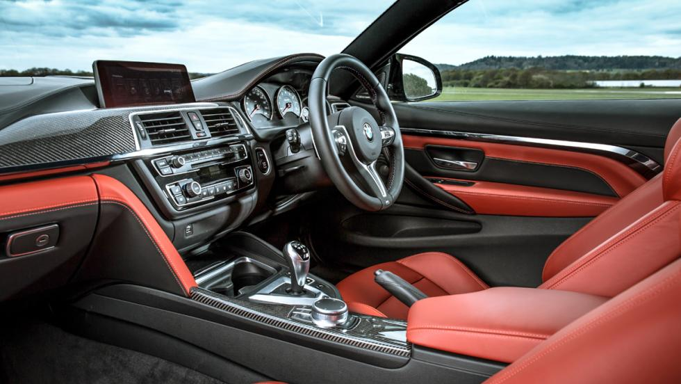 BMW M4 M Competition (interior)