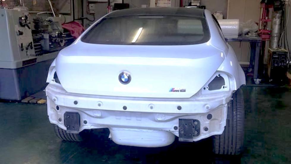 El brutal BMW M6 con motor rotativo