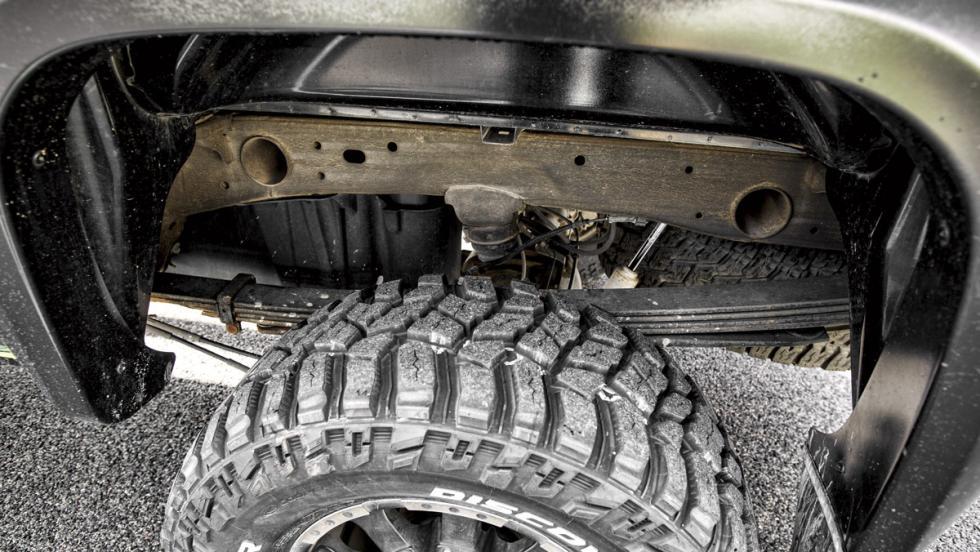 Chevrolet Silverado Monster (suspensión)