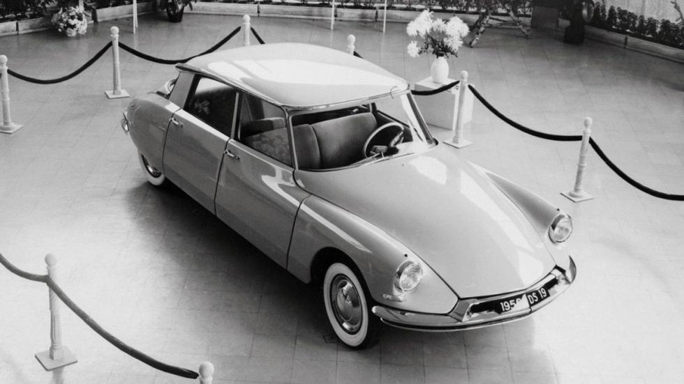 Citroen DS19 viejas glorias lujo sedan