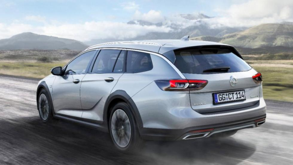 Coches 2017: Opel Insignia Country Tourer