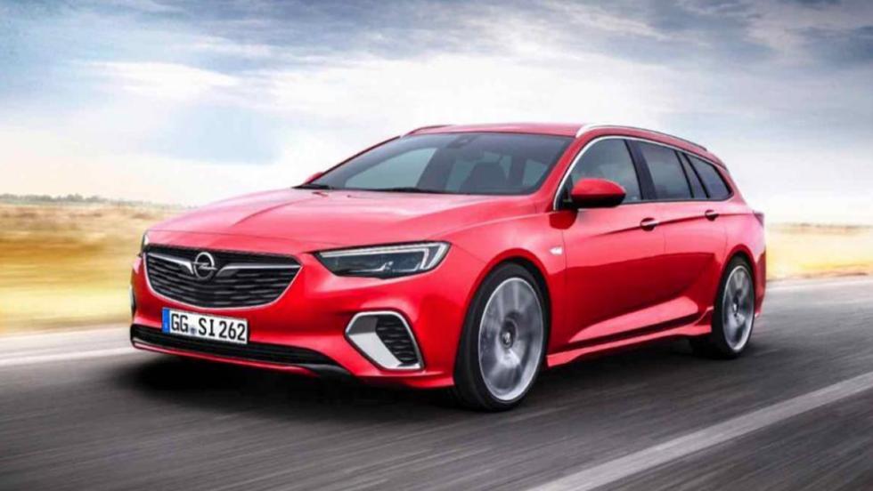 Coches 2017: Opel Insignia GSi Sport Tourer
