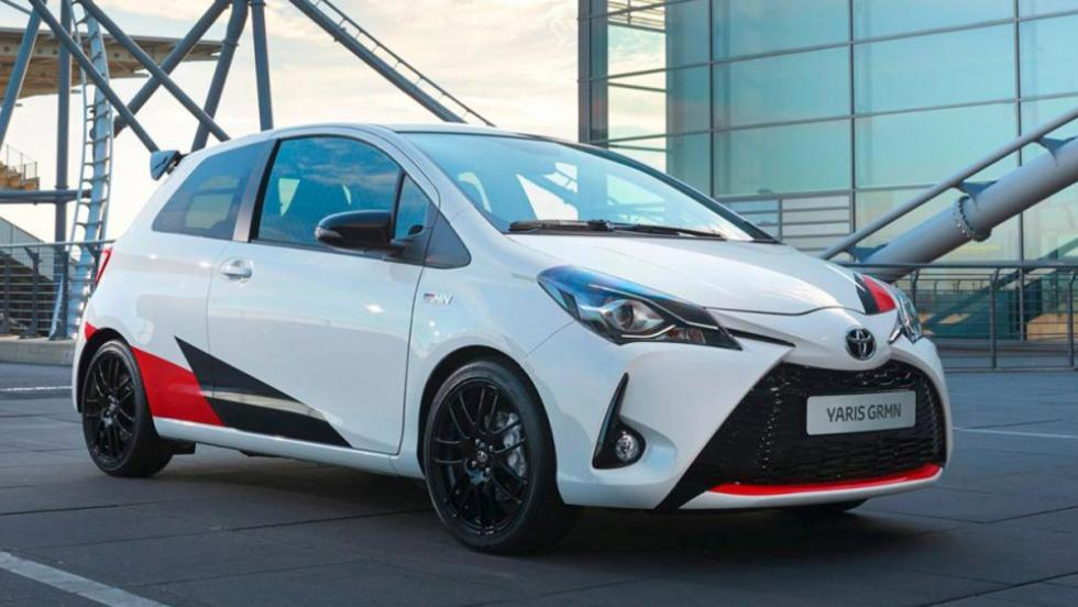 Coches 2017: Toyota Yaris GRNM