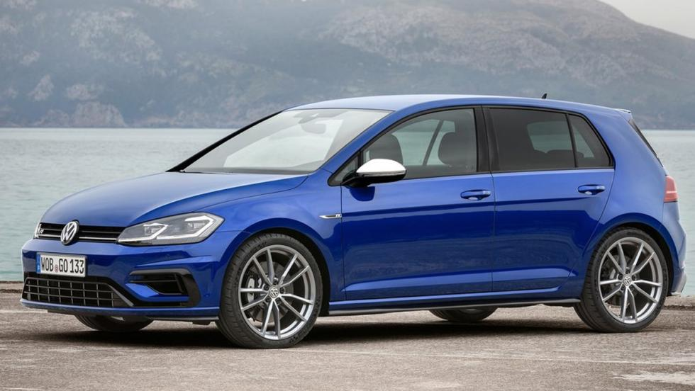 Los coches más baratos con más de 300 CV: Volkswagen Golf R