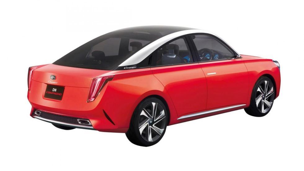 Daihatsu DN Compagno sedán prototipo futuro