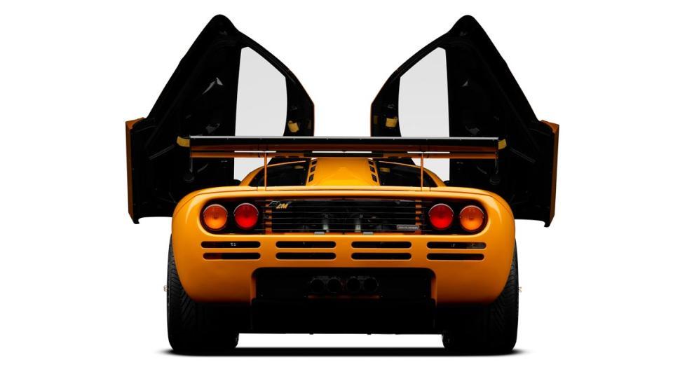 Deportivos de calle con motor de competición: McLaren F1