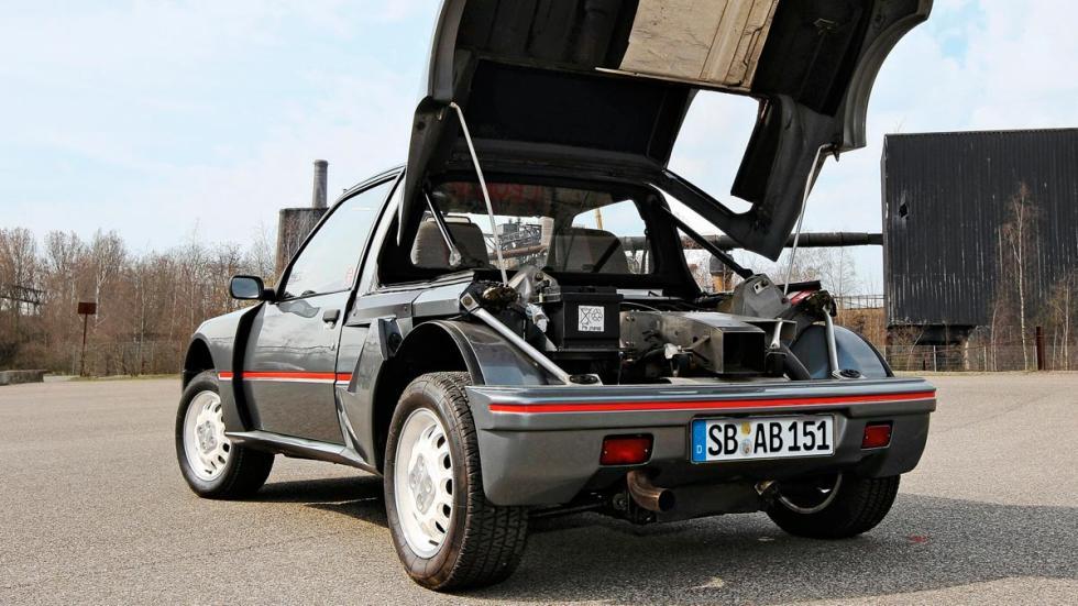 Deportivos de calle con motor de competición: Peugeot 205 T16