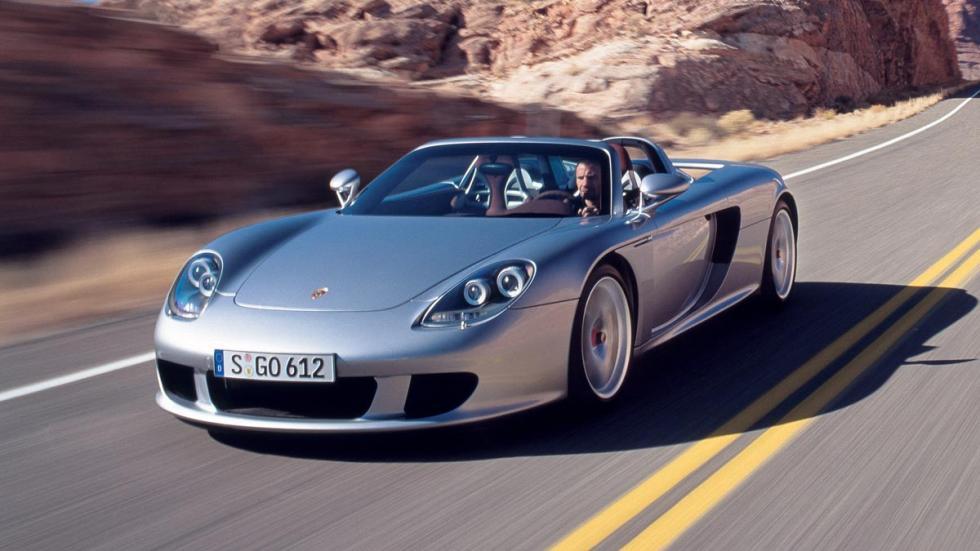 Deportivos de calle con motor de competición: Porsche Carrera GT
