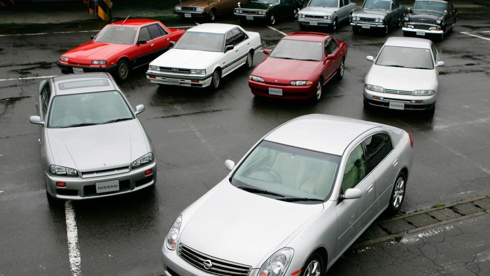 Evolución del Nissan Skyline
