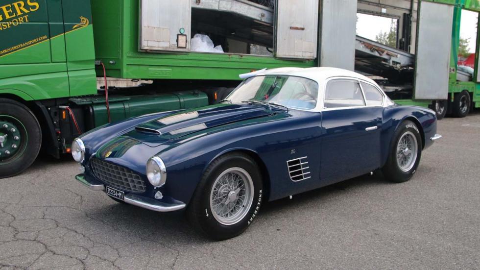 Ferrari 250 GT Zagato roadtrip Italia
