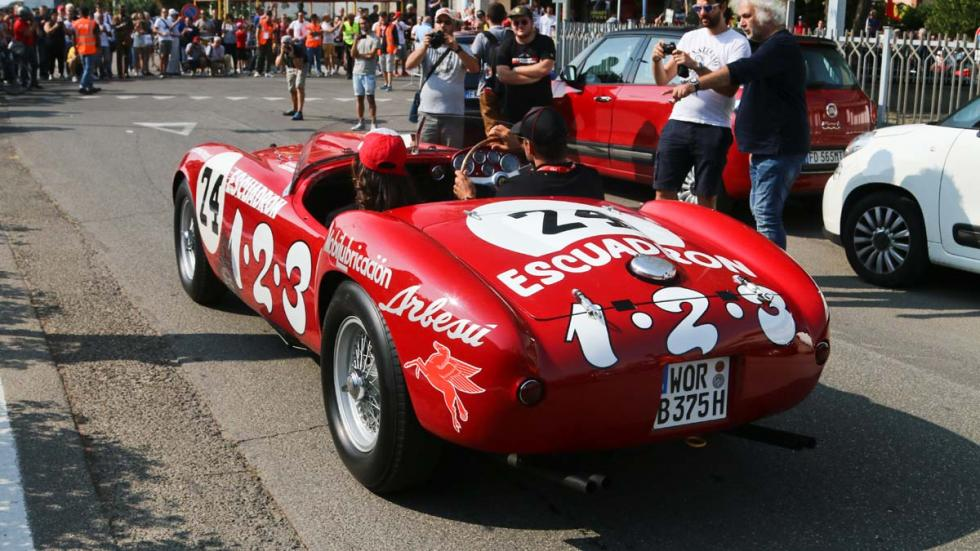 Ferrari 375MM Panamericana futbol ballack roadtrip italia