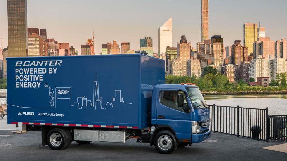 Fuso e-Canter daimler mitsubishi camion electrico
