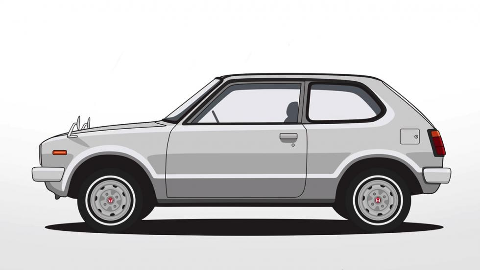 La historia del Honda Civic