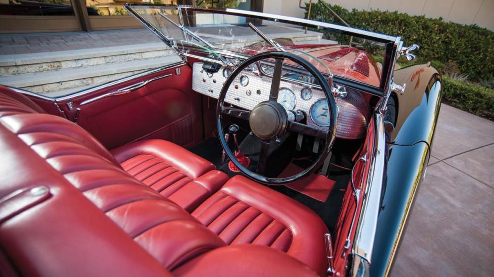 Jaguar SS100 Van den Plas descapotable carrocero lujo único