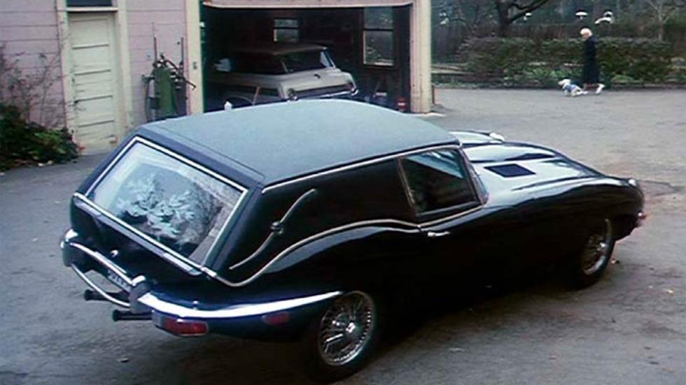 Jaguar E-Type Hearse funeral coche funebre deportivo lujo película cine
