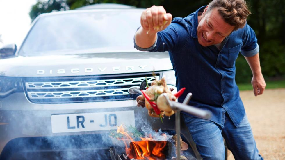 Land Rover Discovery Jamie Oliver
