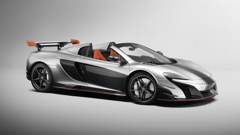 McLaren MSO R descapotable coupe one-off two-off deportivo