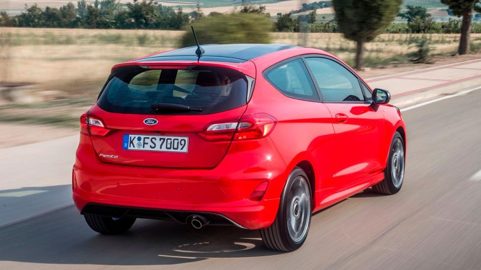 Mejores motores de tres cilindros Ford Fiesta Opel Astra Peugeot 308 VW Golf BMW i8
