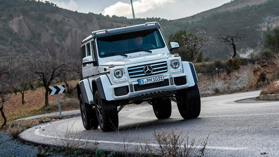 Mercedes G500 4x42 (V)