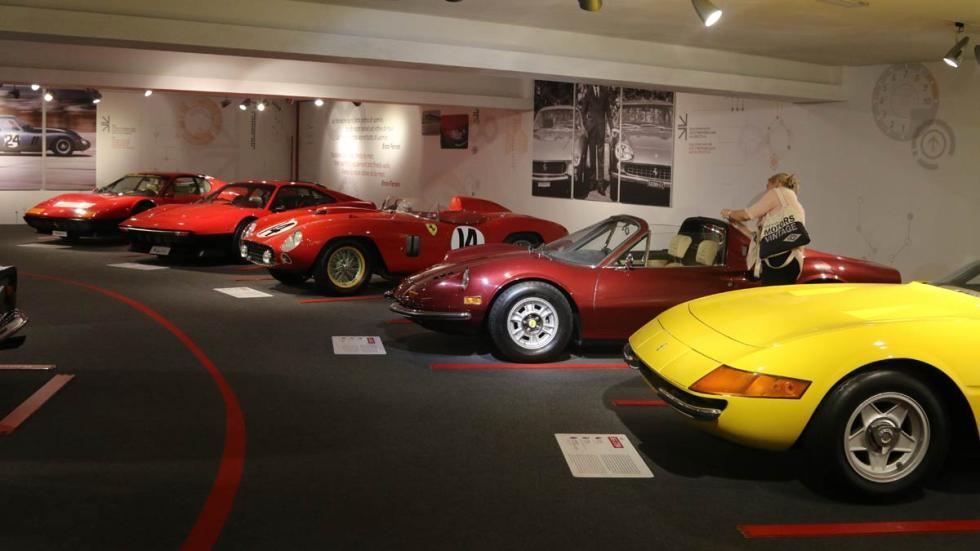 Museo Ferrari en Maranello Dayton Dino 246