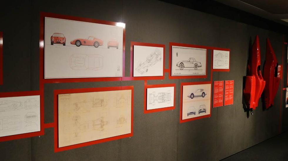 Museo Ferrari en Maranello clasico deportivo