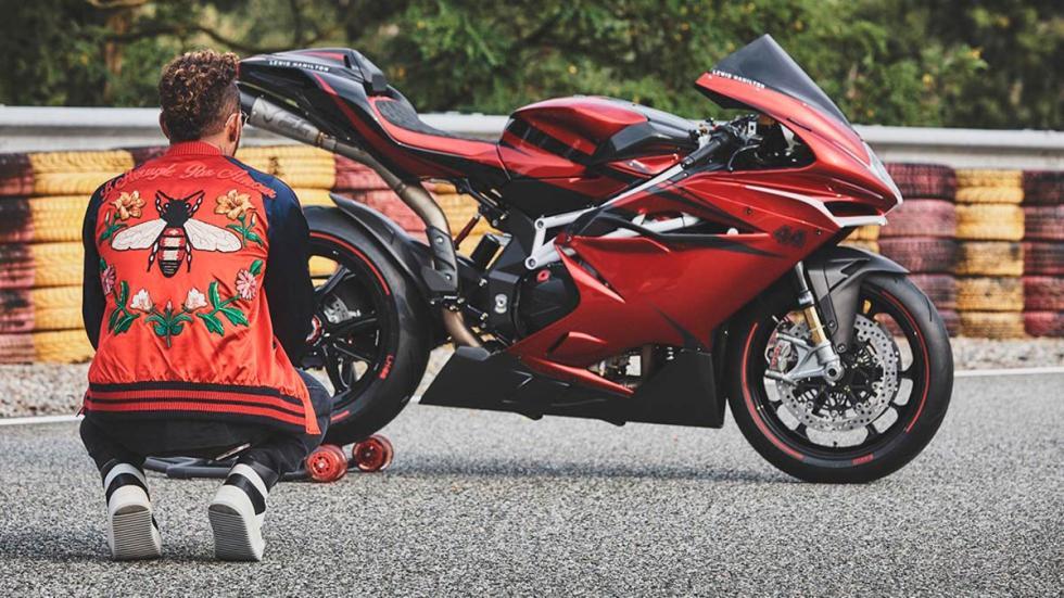 MV Agusta F4 LH44 moto deportiva limitada