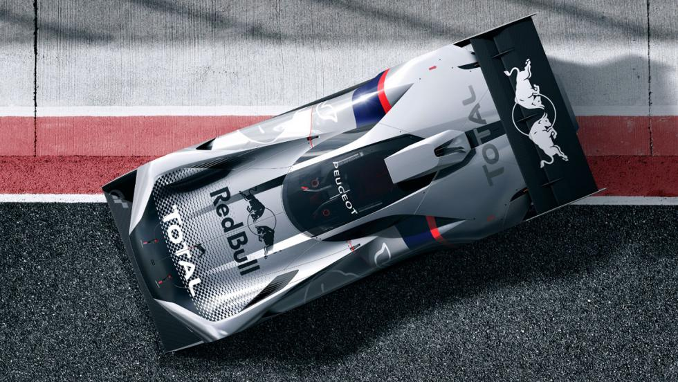 Peugeot L750 R Hybrid Vision Gran Turismo (V)