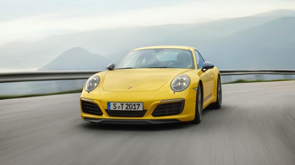 Porsche 911 Carrera T deportivo lujo prestaciones puristas