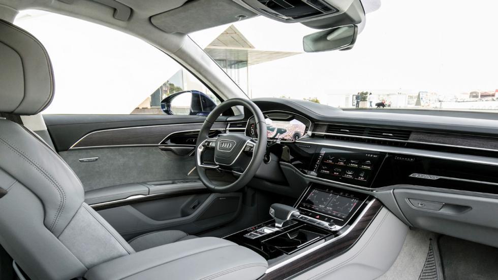 Prueba Audi A8 2017 (interior)