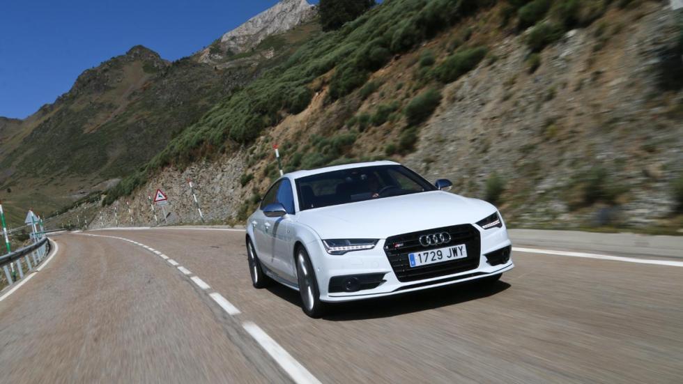 Prueba Audi S7 sedán deportivo lujo