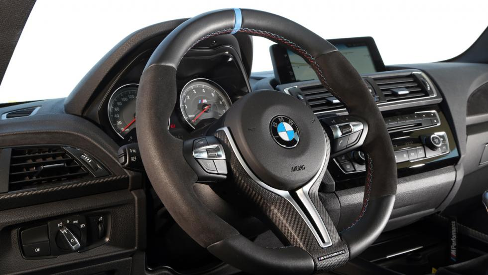 Prueba BMW M2 M Performance (volante)
