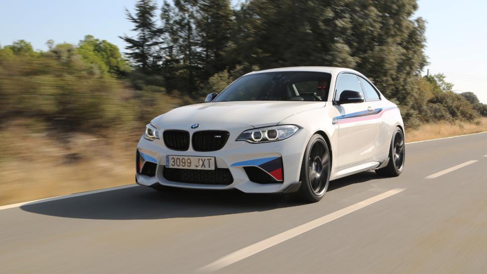 Prueba BMW M2 M Performance (delantera)