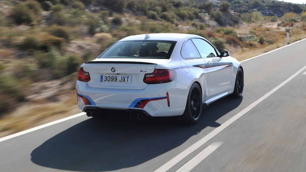 Prueba BMW M2 M Performance (trasera)