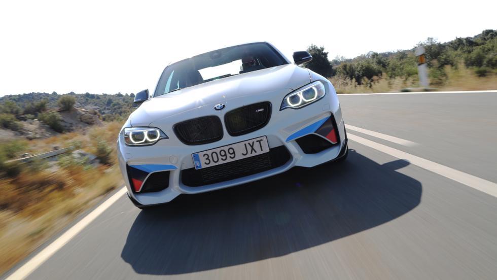 Prueba BMW M2 M Performance (riñones)