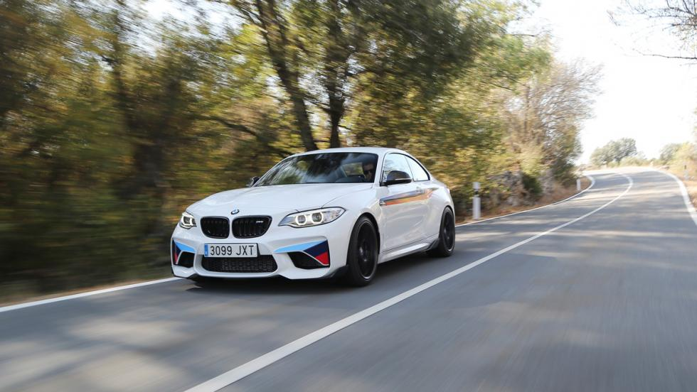 Prueba BMW M2 M Performance (frontal)