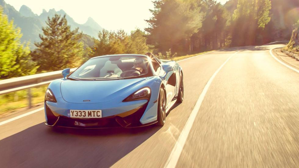 Prueba TG: McLaren 570S Spider