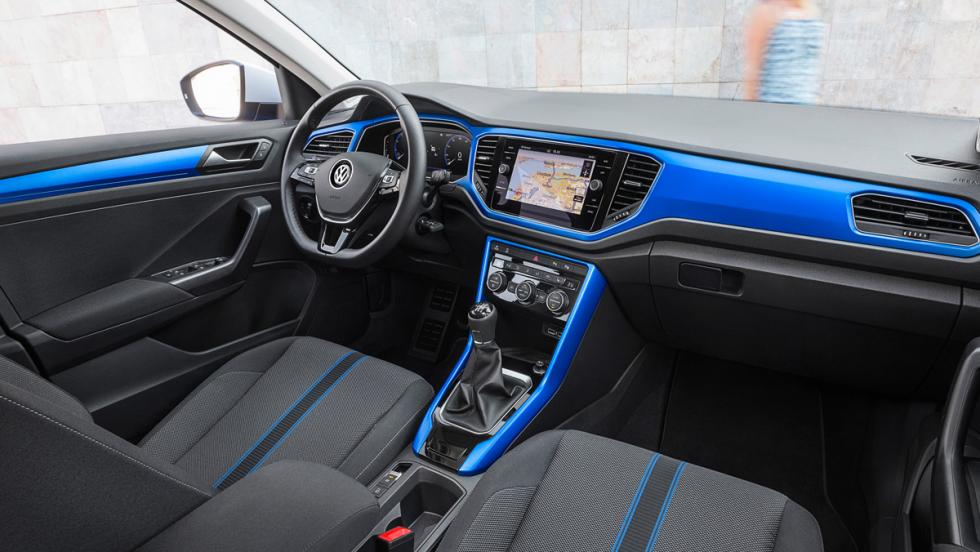 Prueba Volkswagen T-Roc 2.0 TDI 150 CV (interior)