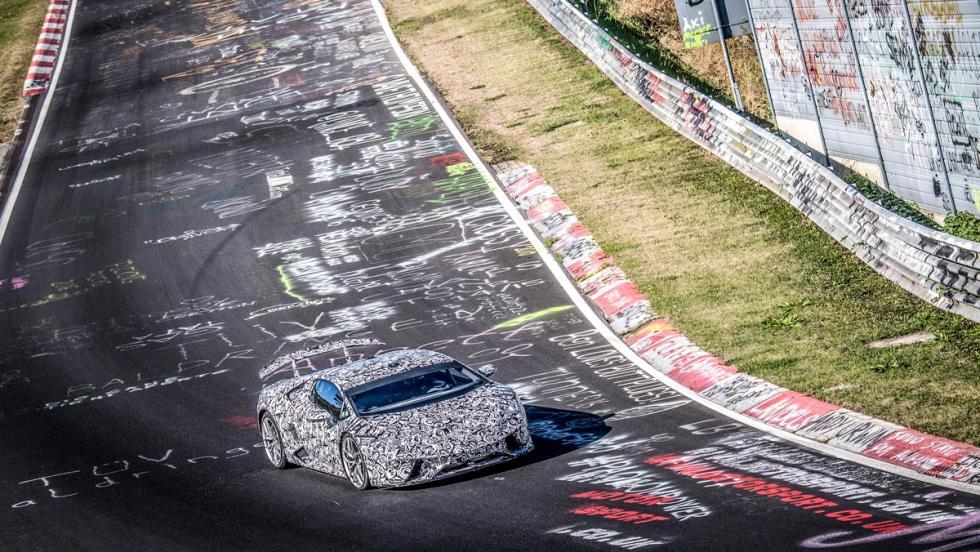 Récord Lamborghini Huracán Performante Nürburgring