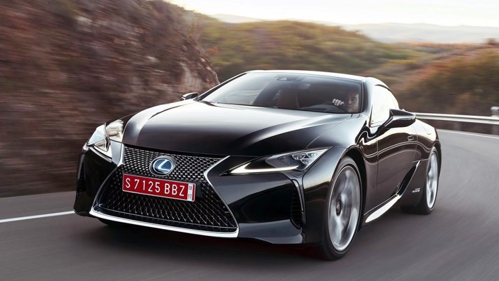 Los rivales del Polestar 1 - Lexus LC 500h
