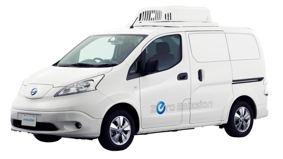 Salón de Tokio 2017: Nissan e-NV200 Fridge Concept