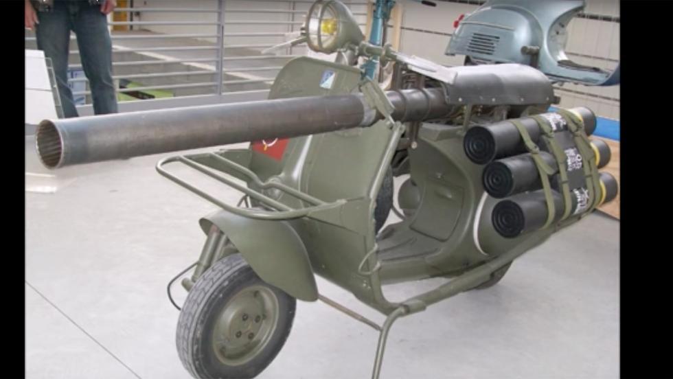 Vehículos militares: Vespa