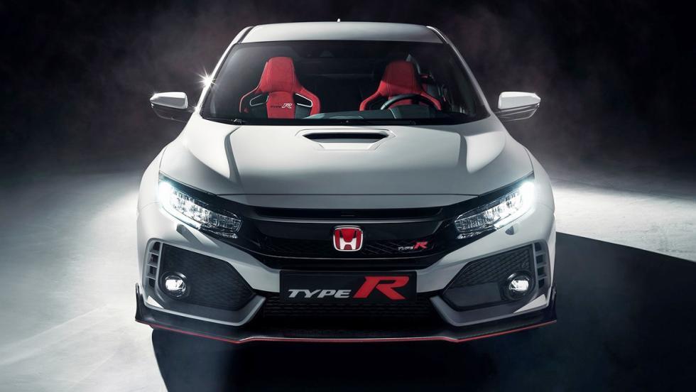 10 deportivos más lentos que el camión de Tesla - Honda Civic Type R