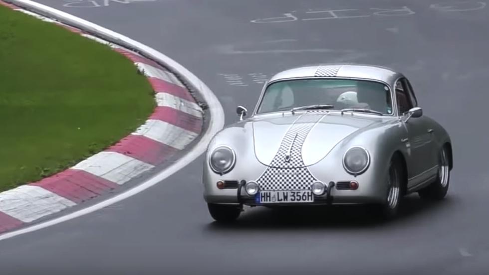 Un 356 rodando en Nürburgring