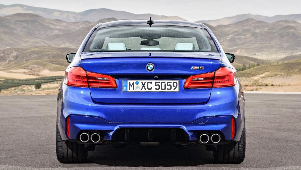 5 berlinas que enamoran - BMW M5