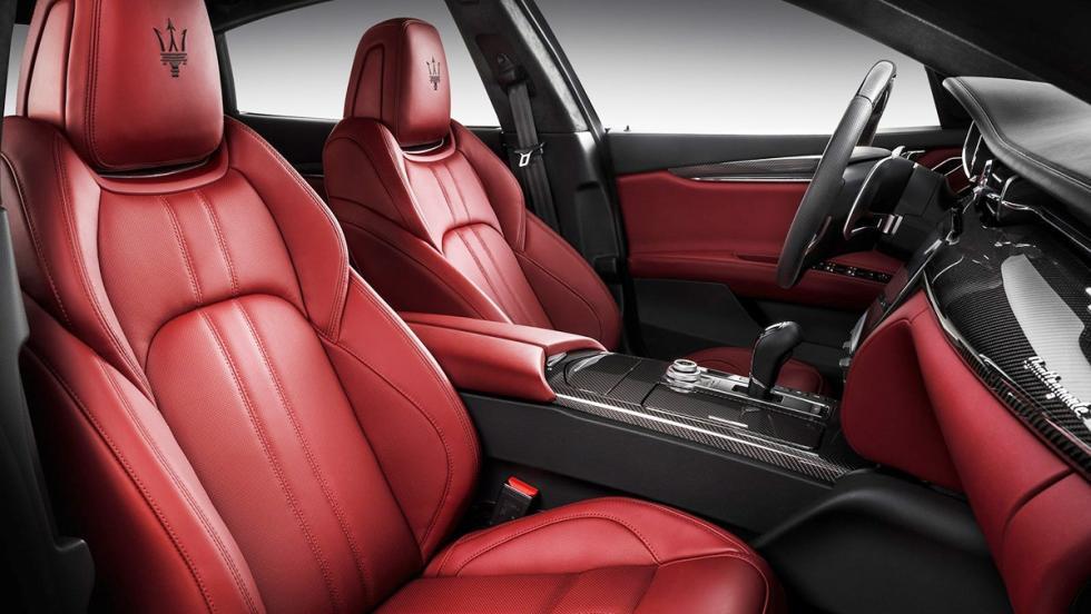 5 berlinas que enamoran - Maserati Quattroporte GTS