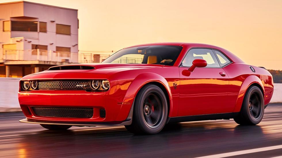 5 bestias americanas que nos han alegrado 2017 - Dodge Challenger SRT Demon