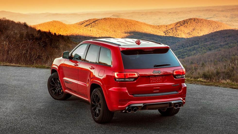 5 bestias americanas que nos han alegrado 2017 - Jeep Grand Cherokee Trackhawk