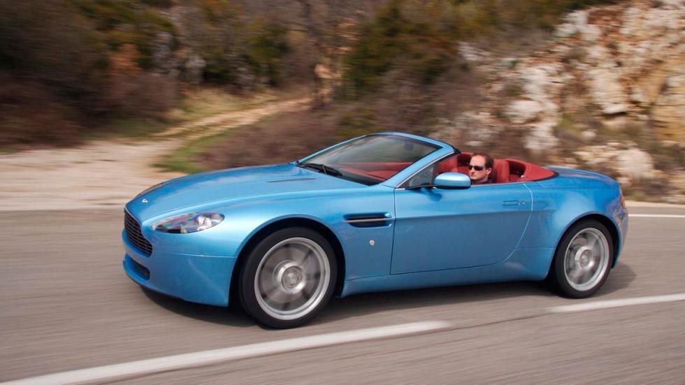 Aston Martin V8 Vantage deportivos lujo barato
