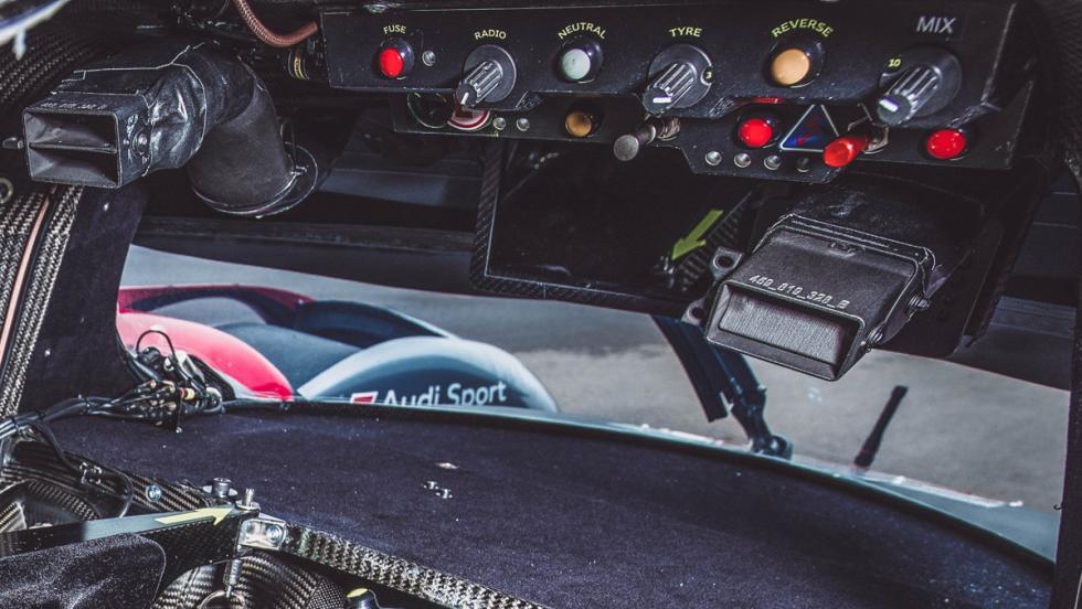 Audi R18 LMP1 (conexión eléctrica)