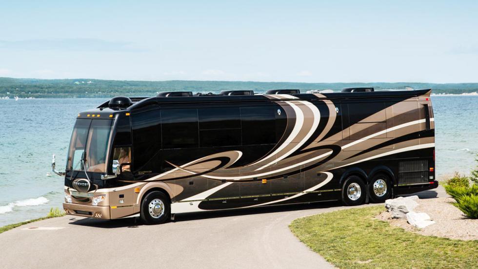Las autocaravanas más lujosas del mundo - Prevost H3-45 Vip
